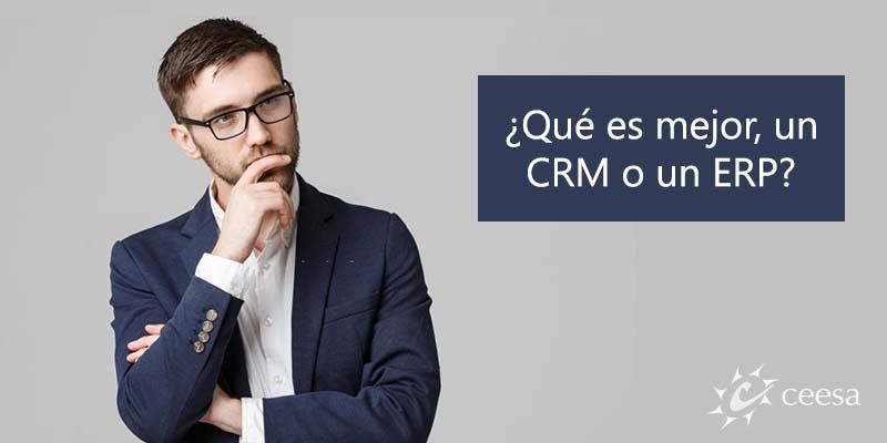 Diferencias entre CRM y ERP