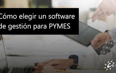 Cómo elegir un software de gestión para PYMES