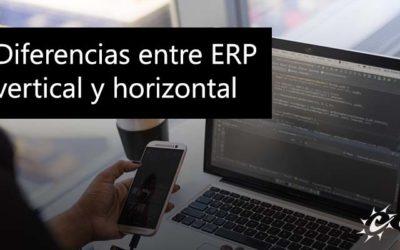 Diferencias entre ERP vertical y horizontal