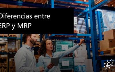 Diferencias entre ERP y MRP